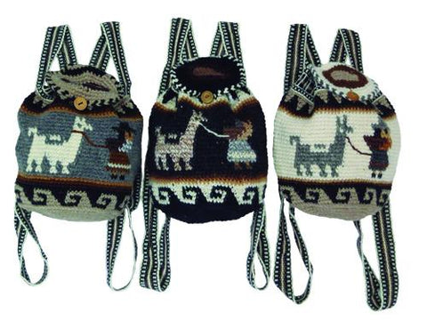 Andean Alpaca Backpack Purses IAT