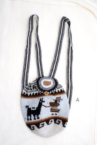 Andean Alpaca Backpack Purses IAT Backpack A