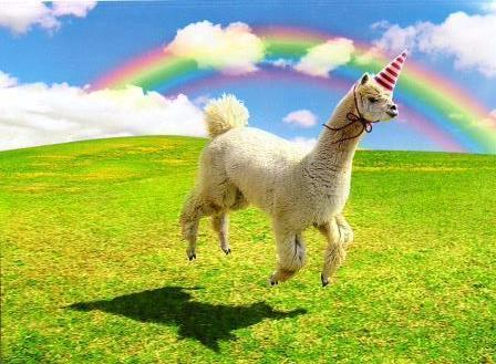Avanti Alpaca Greeting Card - Alpaca Unicorn - Birthday - Purely Alpaca