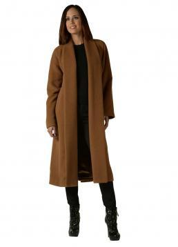 Classic Long Swing Alpaca Coat DropShip AC