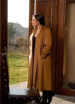 Classic Long Swing Alpaca Coat - Purely Alpaca