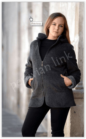Country Classic Ladies Alpaca Coat - Purely Alpaca