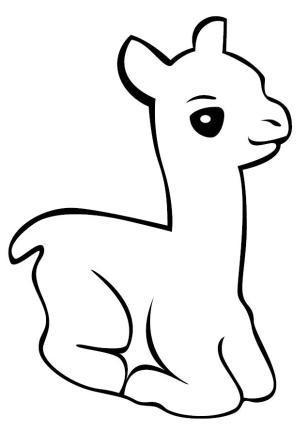 Cute Alpaca Window Stickers