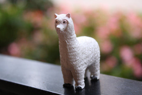 Cute Clay Alpaca Figurine - Purely Alpaca