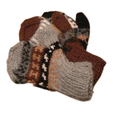 Deluxe Hand Knit Mittens for Kids