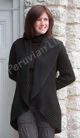"Essential ""Magic"" Ladies Alpaca Sweater DropShip PL One Size Fits Most Black"