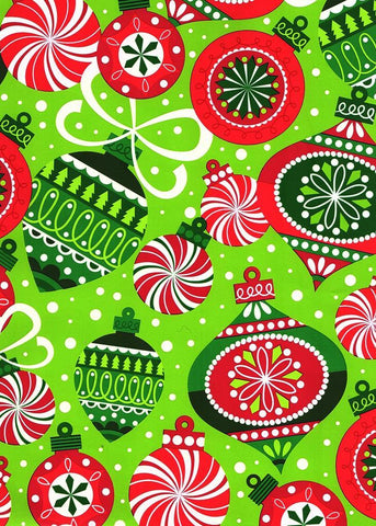Gift Wrap your Alpaca Gifts Gift Wrap WM Ornaments on Green