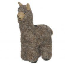Huacaya Alpaca Felted Ornament - Purely Alpaca