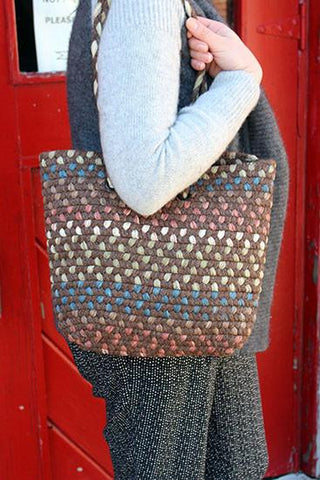 Mini Alpaca Tote Bag Purses NEAFP Brown
