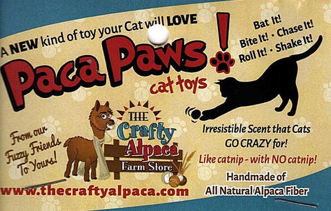 PacaPaws Felted Alpaca Cat Toys Pet Products TCA