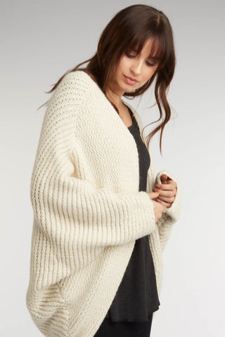 Plush Alpaca Cocoon Cardigan Sweater IDC