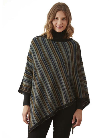 Seashore Capelet - CLOSEOUT Capes and Wraps PL One Size Fits Most BrownGrey