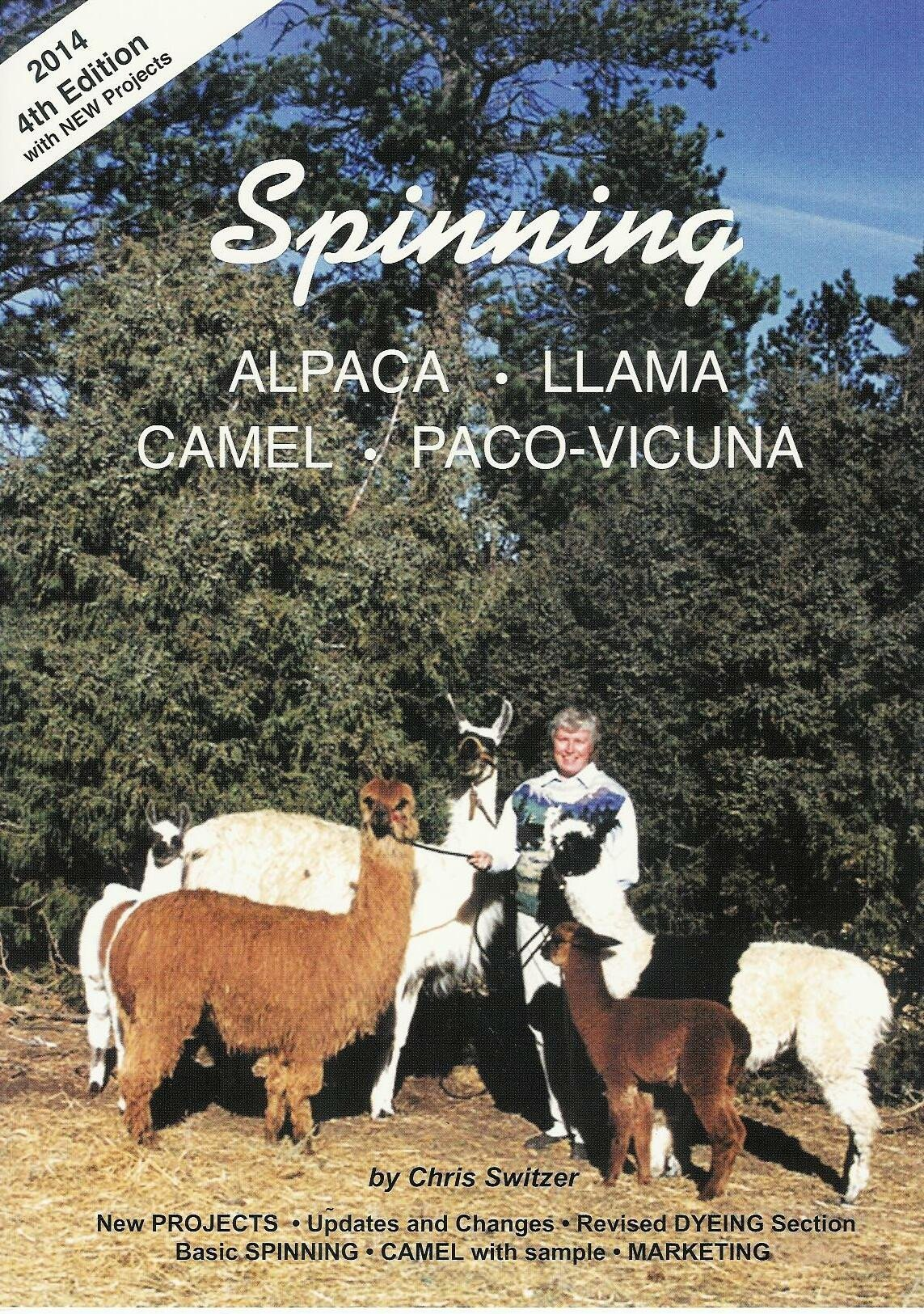 Spinning Alpaca, Llama, Camel and Paco-Vicuna 4th Edition