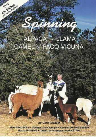 Spinning Alpaca, Llama, Camel and Paco-Vicuna 4th Edition - Purely Alpaca