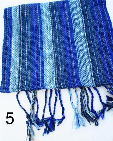 Striped Handwoven Alpaca Scarf - Purely Alpaca