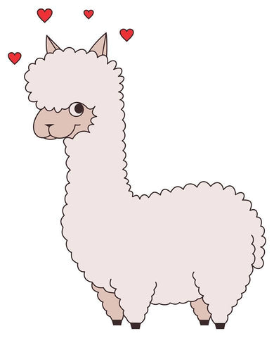 t-shirt: Alpaca Love - Purely Alpaca