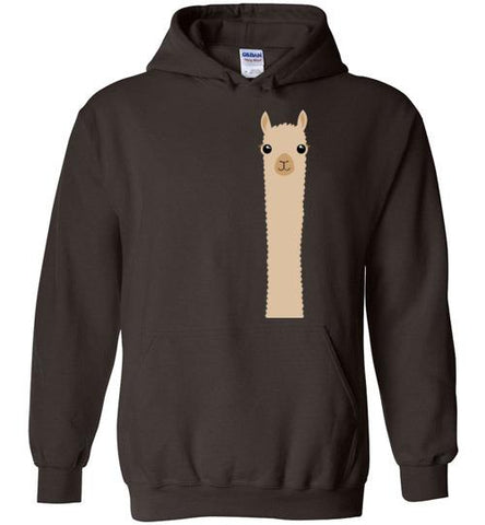 t-shirt: Alpaca Watching Custom Order Gildan Hoodie T-Shirt TS Dark Chocolate S