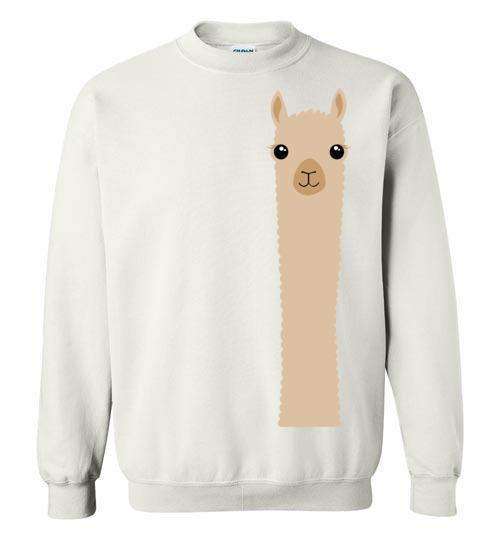 t-shirt: Alpaca Watching Gildan Sweatshirt