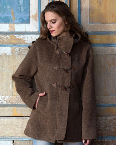 Toggle Alpaca Coat DropShip PL Medium Ash