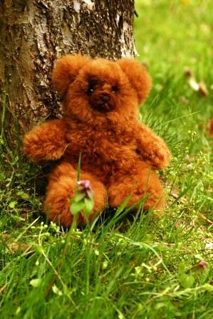 "Top Quality Lanart Classic Alpaca Teddy Bears 9"" Toy LNT"