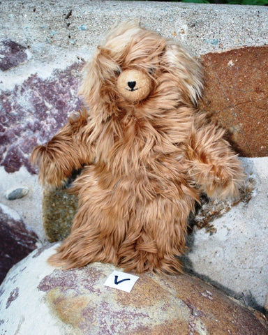 "Top Quality Lanart Suri Teddy Bears 9"" - Purely Alpaca"