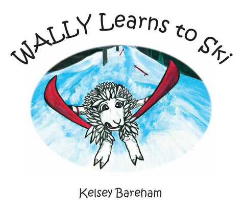 Wally the Suri Learns to Ski - Childrens Alpaca Book - Purely Alpaca