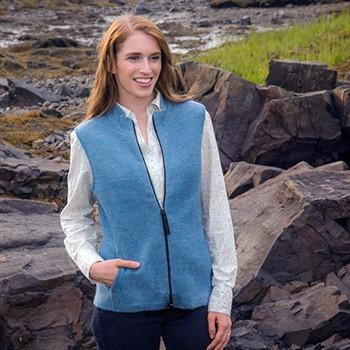 Women's Ridgeport Zip Alpaca Vest
