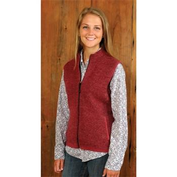 Women's Ridgeport Zip Alpaca Vest - Purely Alpaca