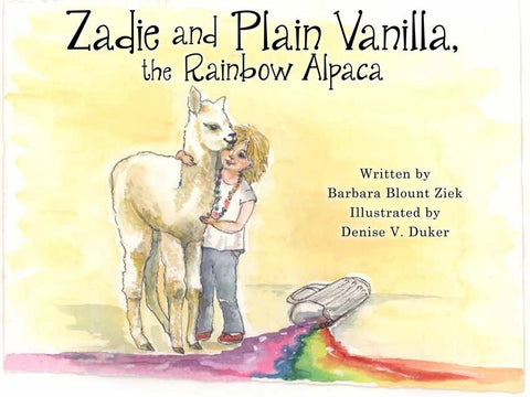 Zadie and Plain Vanilla, the Rainbow Alpaca Fun WHP