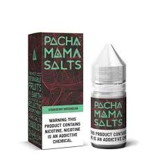 PACHA MAMA SALTS STRAWBERRY WATERMELON E-JUICE 30ML