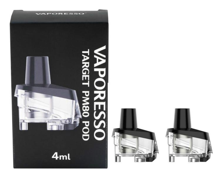VAPORESSO TARGET PM80 REPLACEMENT PODS (SINGLE POD) (NO COIL INCLUDED)