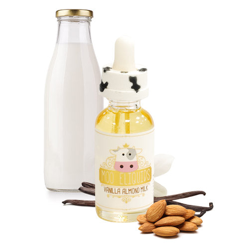 MOO E-LIQUID VANILLA ALMOND MILK