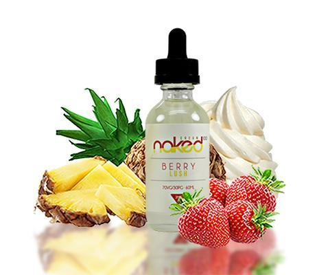 NAKED 100 CREAM - BERRY LUSH / PINEAPPLE BERRY JUICE