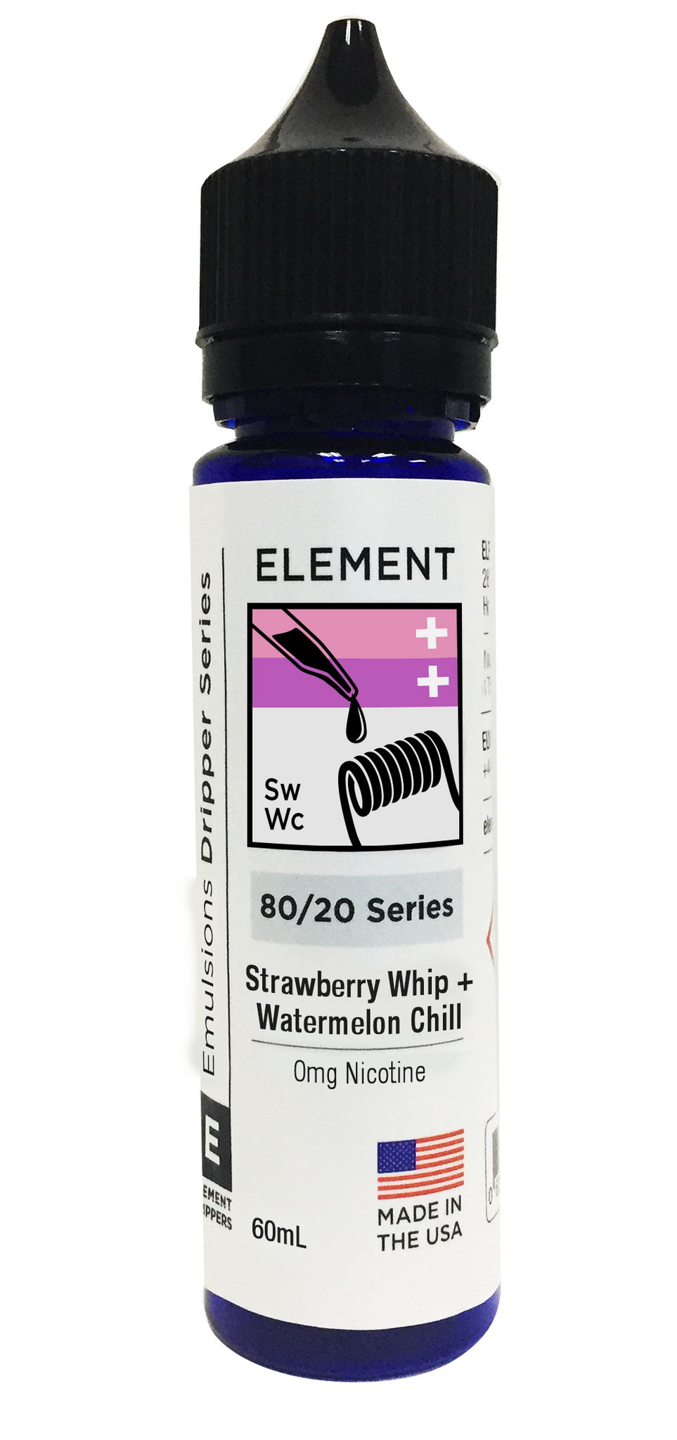 ELEMENT - STRAWBERRY WHIP + WATERMELON CHILL
