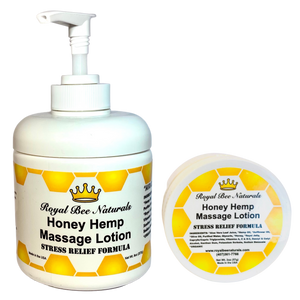 Honey Hemp Massage Lotion
