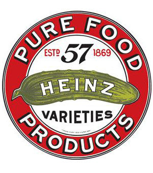 Heinz Pure Foods Tin Sign