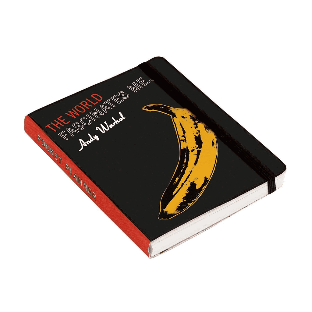Andy Warhol Undated Pocket Planner
