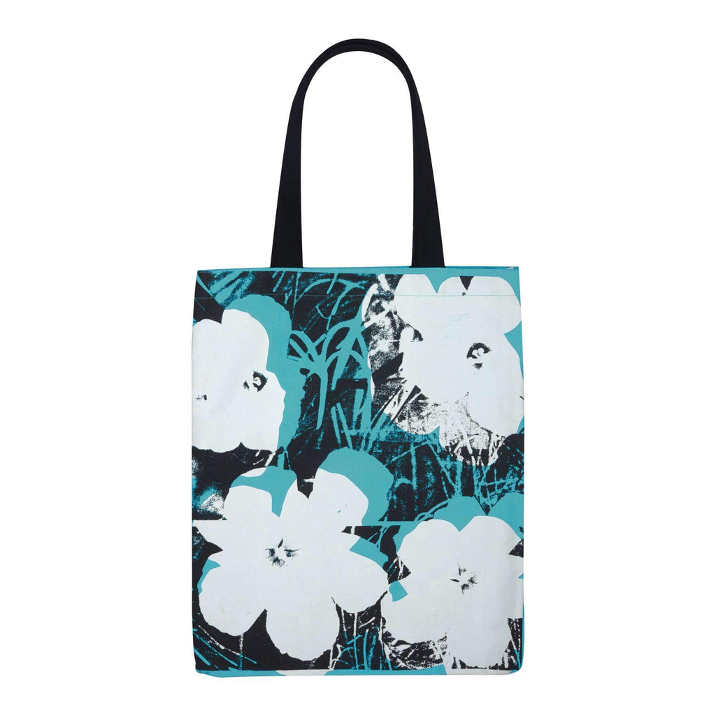 Andy Warhol Poppies Tote Bag