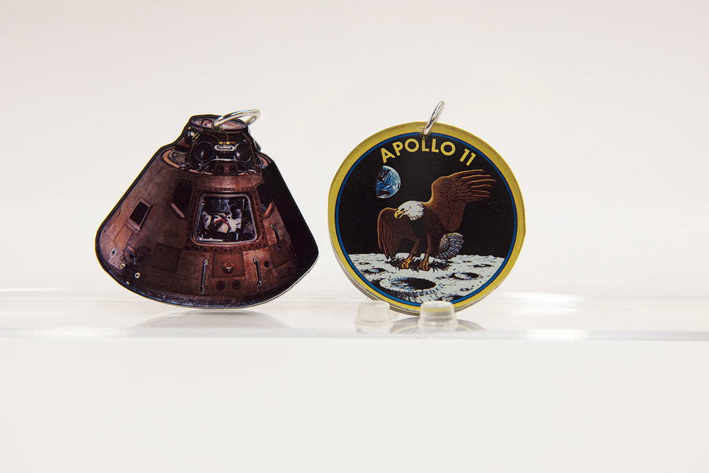Destination Moon Keychain