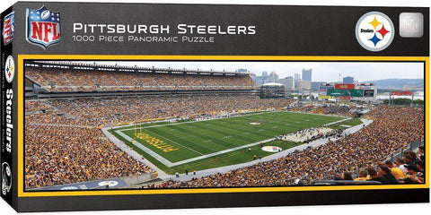 Pittsburgh Steelers - Heinz Field Panoramic Puzzle