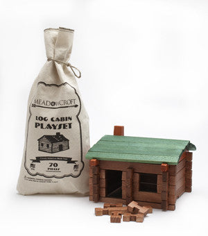 Log Cabin Play Set