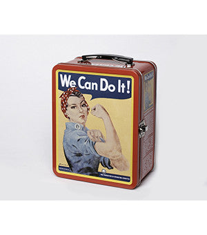 Rosie the Riveter Lunch Box