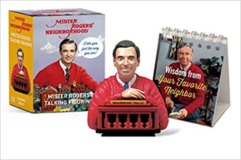 Mister Rogers Talking Figurine