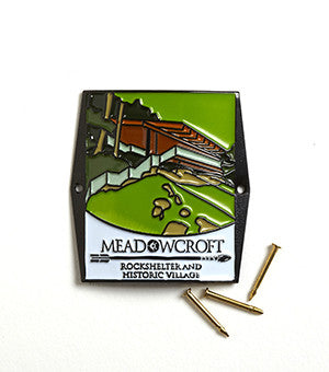 Meadowcroft Walking Stick Medallion