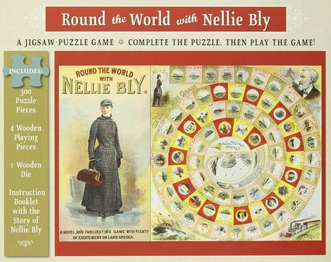 Round the World with Nellie Bly Puzzle and Game