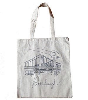 Pittsburgh Bridge Tote