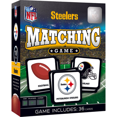 Matching Game: Pittsburgh Steelers