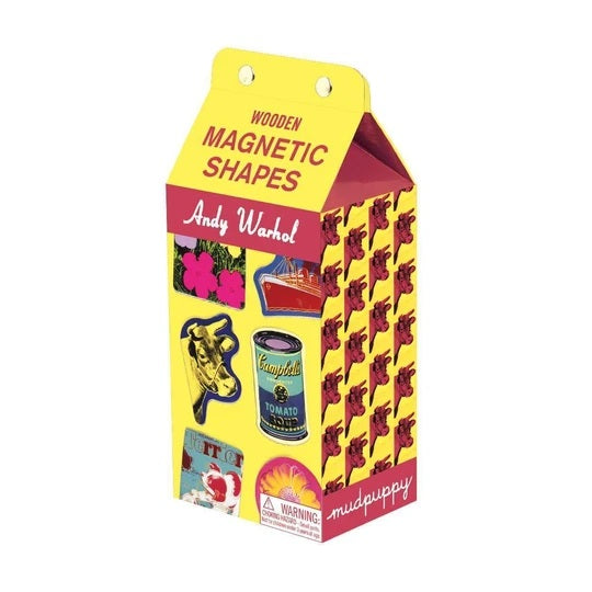 Andy Warhol Magnetic Shape Set