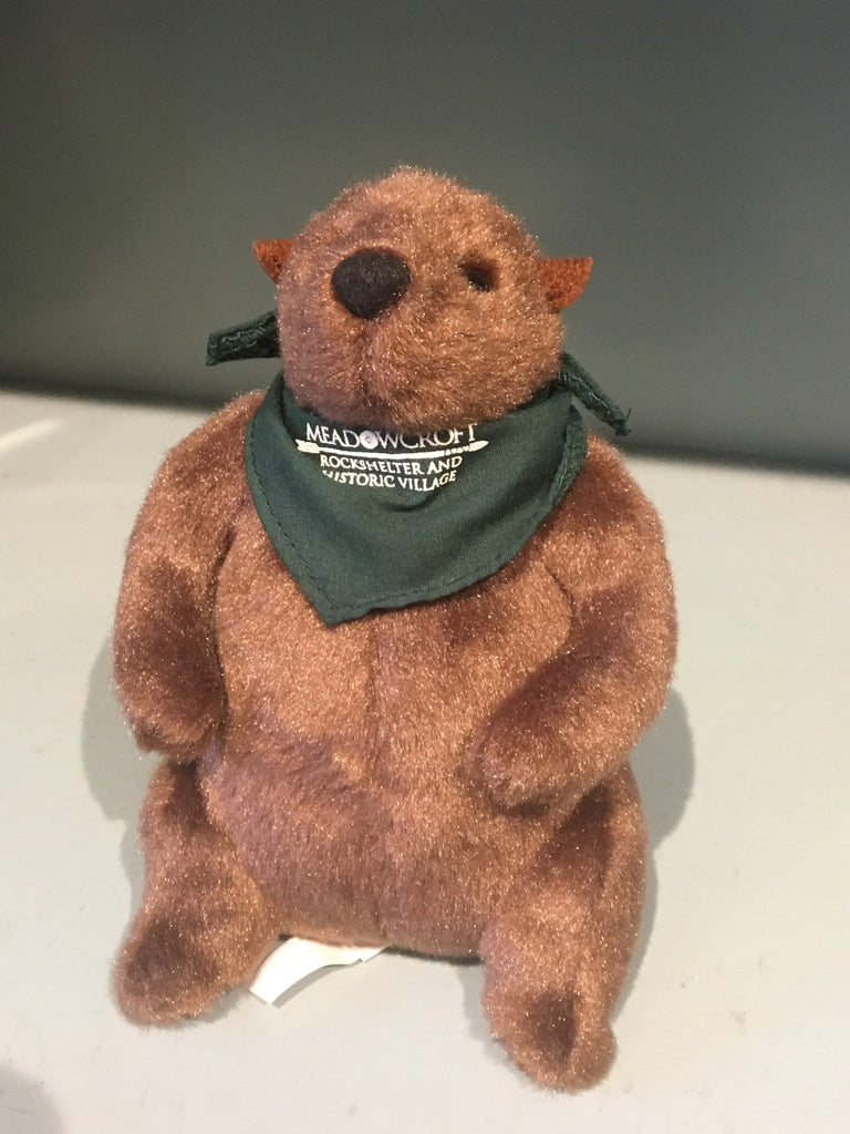 Meadowcroft Stuffed Groundhog