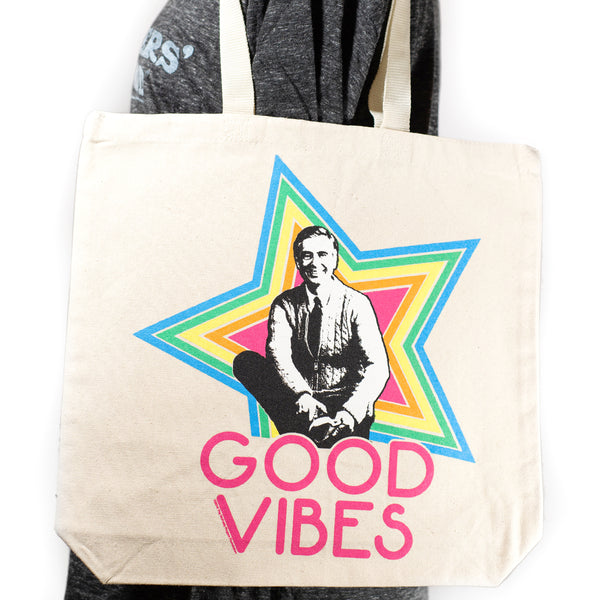 Mister Rogers Canvas Tote Bag